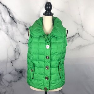 Juicy Couture puffer quilted vest
